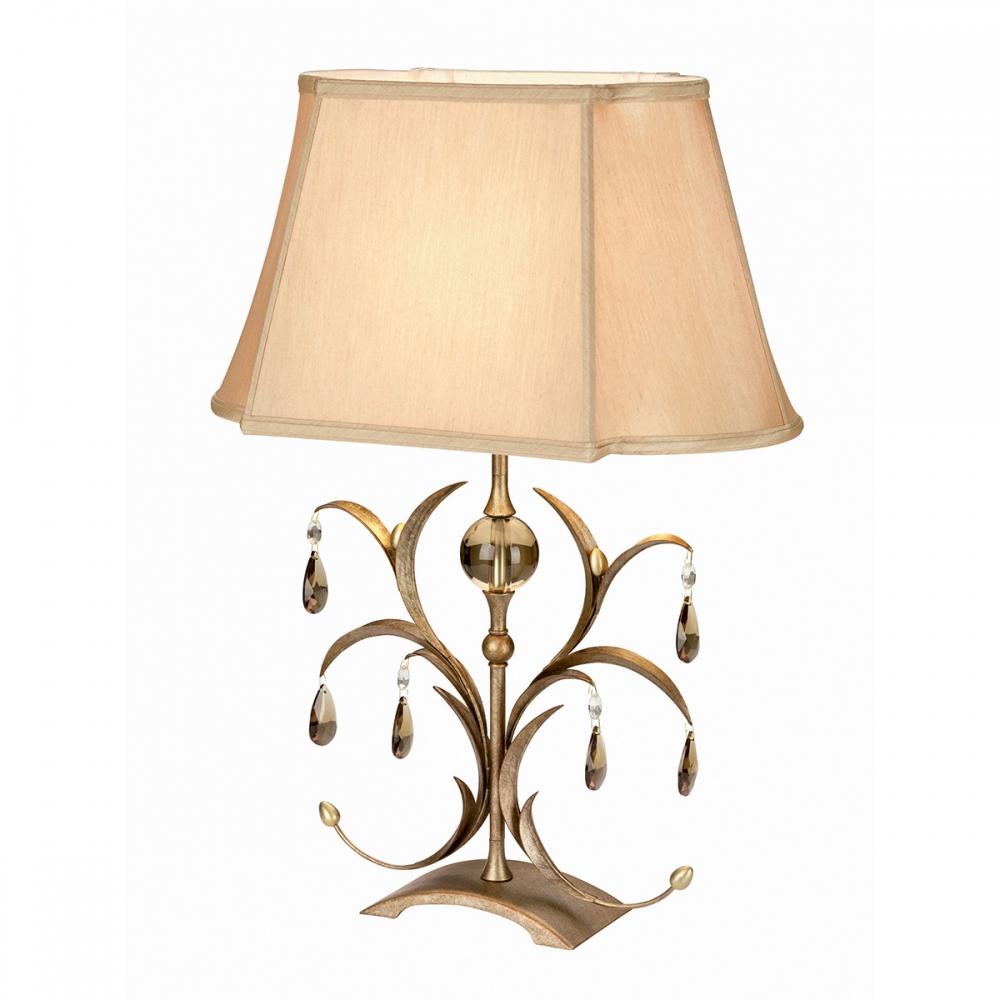 Lily lamp & shade