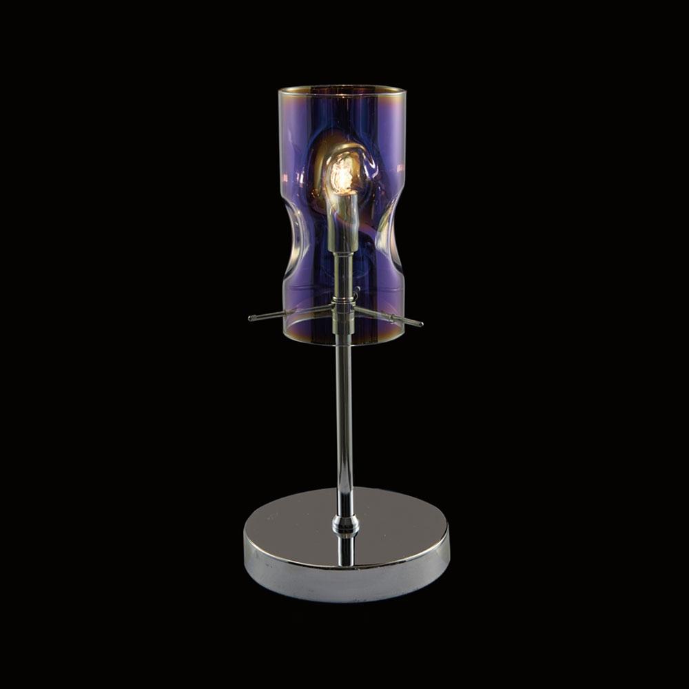 Venus Glass Table Lamp Blue