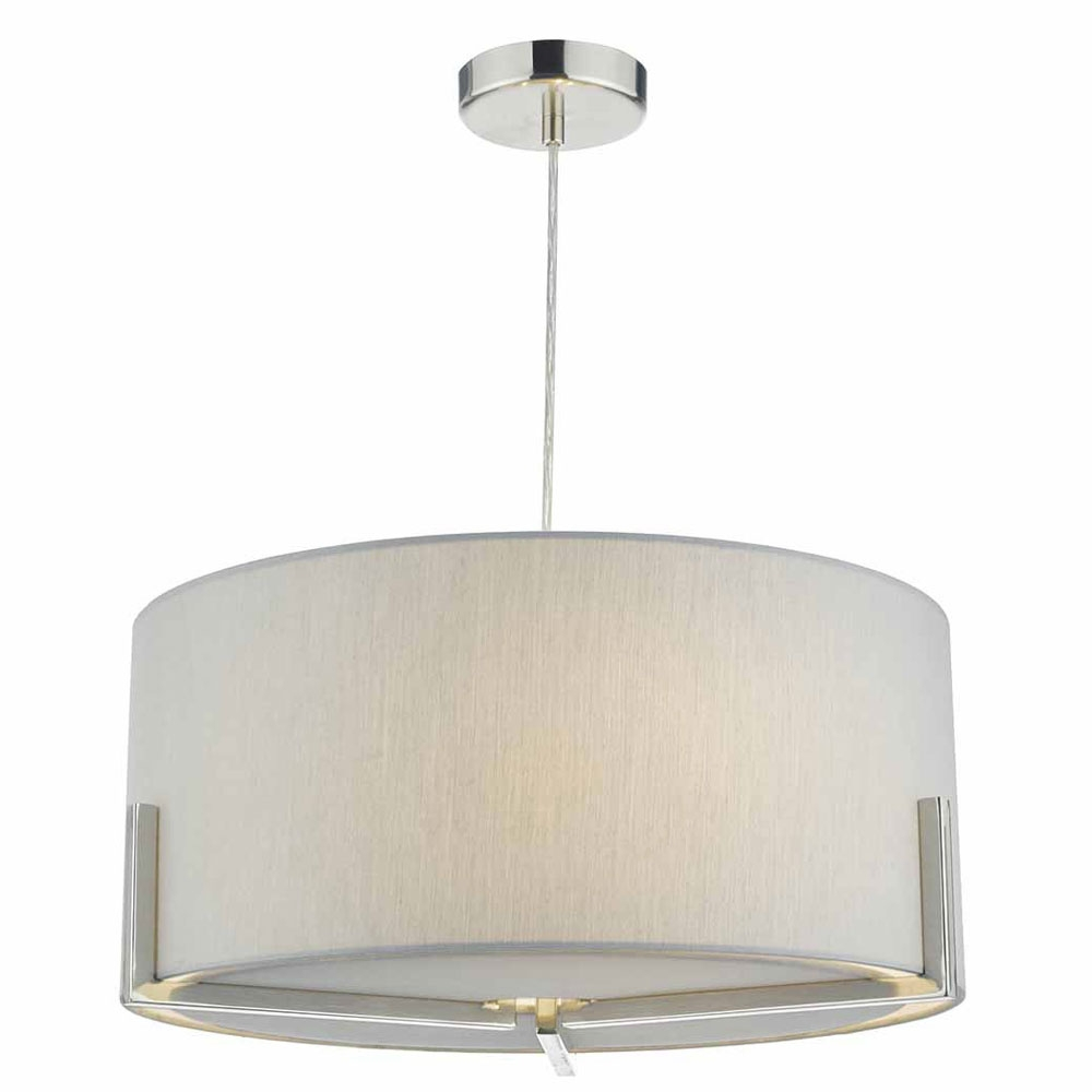 Santino 3 Light Pendant Grey