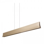 Ingot Gold LED Electric Bar Pendant