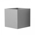 Cube Grey LED Wall Light