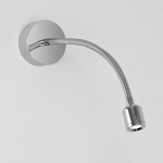 Antennae Chrome Surface LED Wall Light