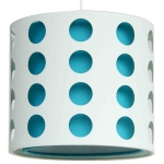 Cut Out Narrow Drum Shade Teal