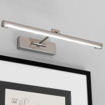 LED Picture Light in Brushed Nickel (Small)