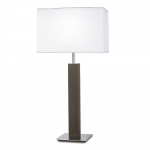 Wash Wood Floor Lamp and Shade