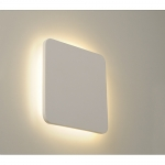 Plaster Plate Wall Light