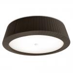Florencia Black Flush Ceiling Light
