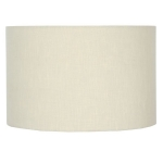 Drum Shade in Vanilla Linen