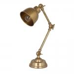 Bradley Antique Brass Table Lamp