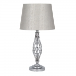 Jenna Silver Table Lampset