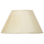 Bacall Pleat Cream Lampshade
