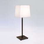 Square Table Lamp in Bronze