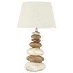 Pebble Table Lamp Natural