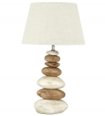 Pebble Stacked Lamp Natural Large