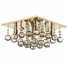 Abacus Antique Gold Flush