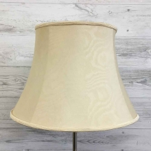 Bowed Drum Lampshade Oyster Moire