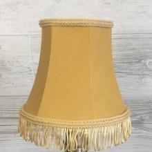 Bowed Empire Candle Gold Fringe