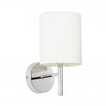 Brio Wall Light with Cream Shade
