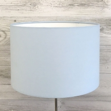 Powder Blue Drum Lampshade