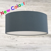 Drum Ceiling Shade Blue Grey