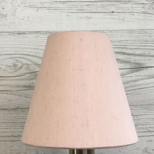 Clip On Candle Shade Blush