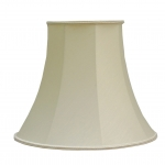 Bowed Empire Lampshade Cream Dupion