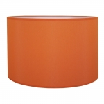 Drum Table Lampshade Burnt Orange