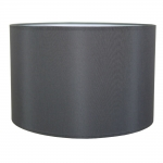 Drum Table Lampshade Charcoal
