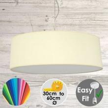 Cream Drum Light Shade