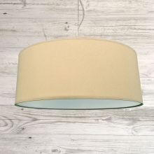 Drum ceiling Shade Crema