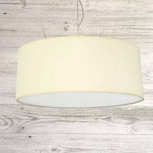 Drum Ceiling Shade Cream