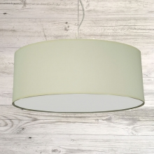 Drum ceiling shade Ivory