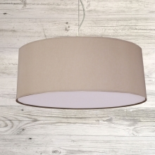 Drum Ceiling Shade Taupe
