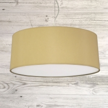 Drum Ceiling Shade Toast
