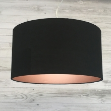 Drum Black with Copper Emboss