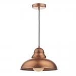 Dynamo 1 Light Copper Pendant