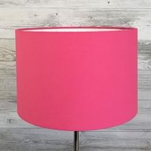 Hot Pink Drum Lampshade