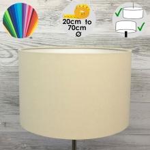 Aura Drum Table Lamp Shade Cream