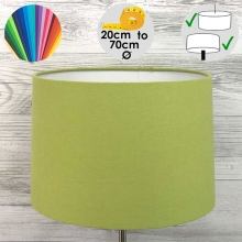 Aura Drum Table Lamp Shade Lime Green