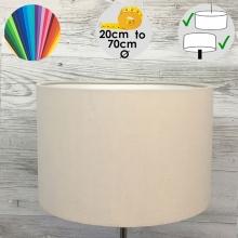 Aura Linen Drum Table Lamp Shade