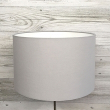 Grey Drum Table Lampshade