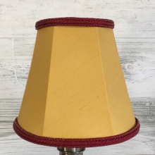 Empire Candle Gold & Burgundy
