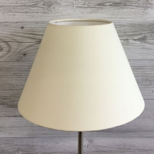 Cream Table Lampshade
