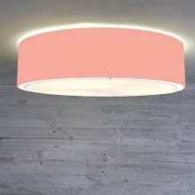 Flush Drum Ceiling Light Coral