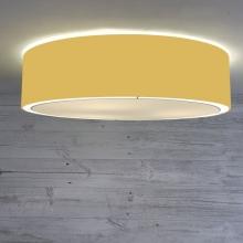 Flush Drum Ceiling Light Gold