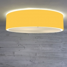 Flush Drum Shade Sunflower