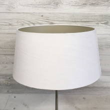 White & Champagne French Drum