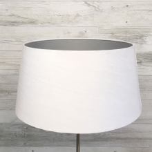 White & Silver French Drum