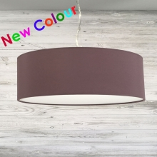 Thin Drum Pendant Mauve