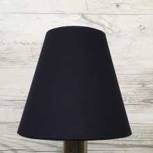 Wilma Candle Shade Navy